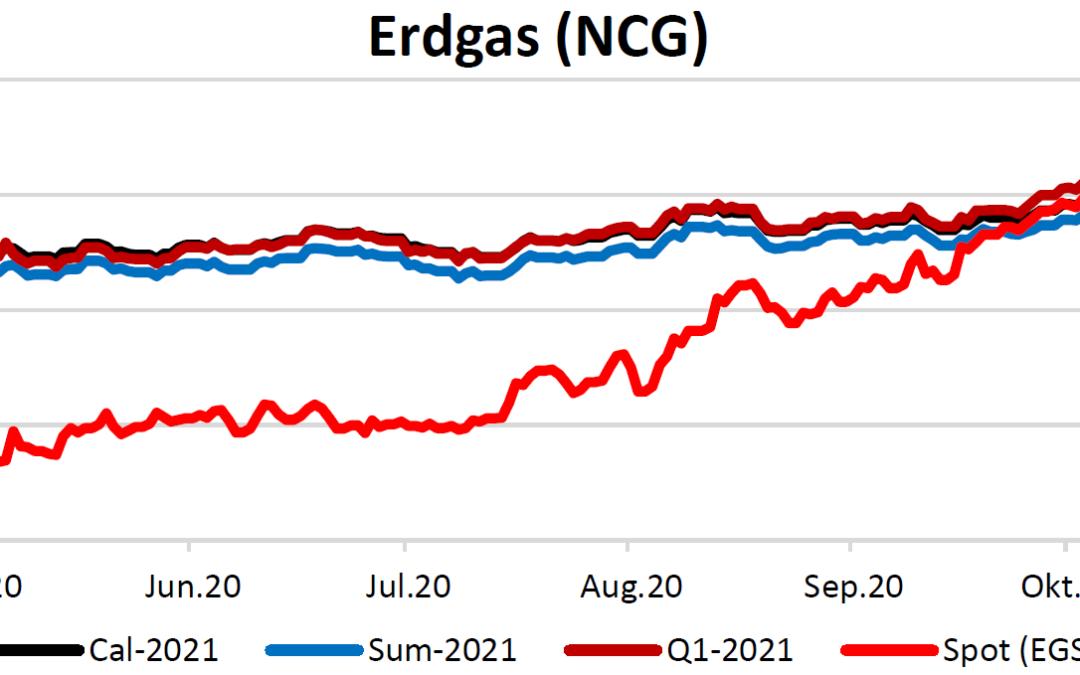 Energiemarktbericht vom 12.November 2020
